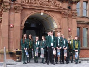 Travel and Tourism visit to the Slieve Donard Hotel