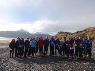 Year 13 Fieldwork at Murlough National Nature Reserve