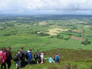 Year 11 field trip to Slemish and the North Antrim Coast